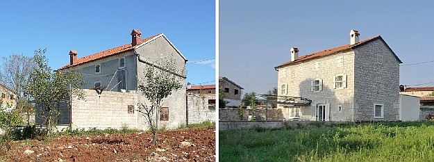 House Reconstruction reconstruction of an old stone house in istria