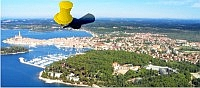 Wonderful two bedroom flat with sea view  in Rovinj