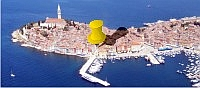 Apartment in Rovinj with stunning view to the south harbour
