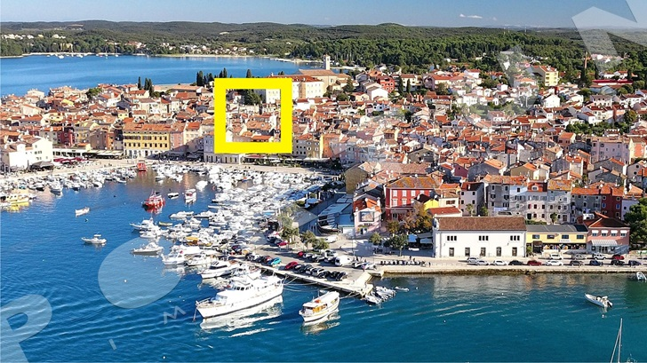 Flat in the centre of Rovinj sold