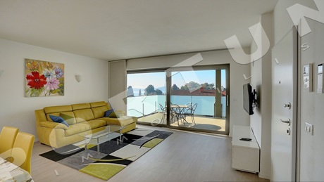 Rovinj, a bright and airy two bedroom penthouse with terrace overlooking the sea