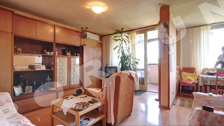 Two bedroom flat set on the second floor of a condominium in Rovinj