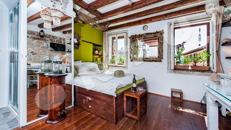Rustically restored apartment in Rovinj