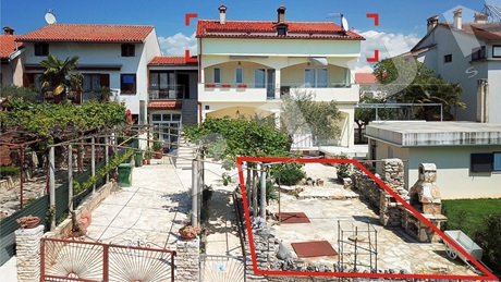 Three bedroom flat with sea views in the surroundings of Rovinj
