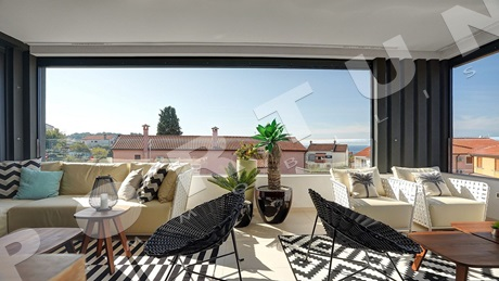 Luxuriously furnished apartment in Rovinj