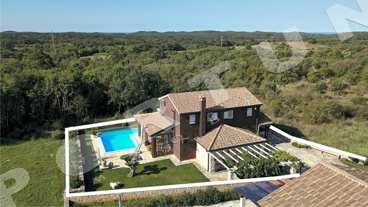 Further reduced price of villa in Istria -22%