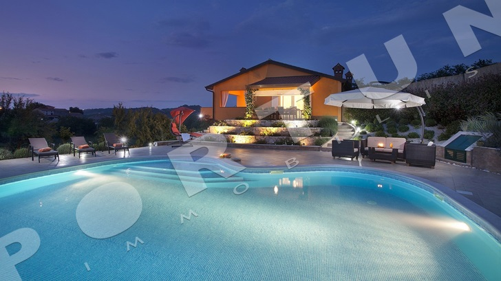 Reduced price of luxury villa in Istria -30%