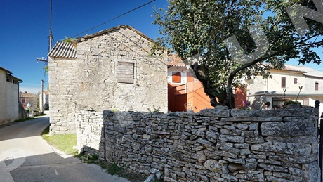 Old stone house in the Istrian hinterland