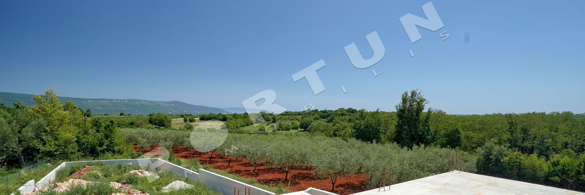 Unfinished holiday house in southern Istria, 210.000 €