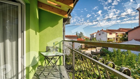 Rovinj, apartment house for 17 guests
