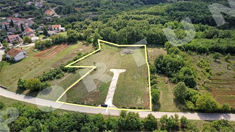 Building plot with planning permission on a great location close to Svetvinčenat