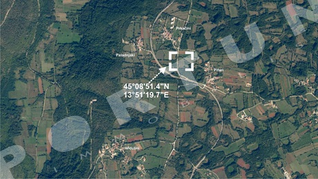Building plot in close proximity to Kanfanar