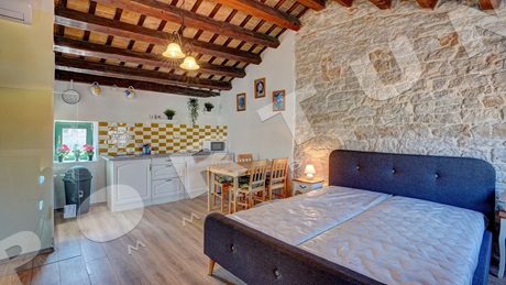 One bedroom flat with two bathrooms in Rovinj