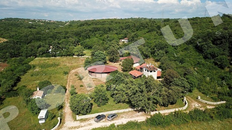 Equestrian estate in close proximity to Rovinj