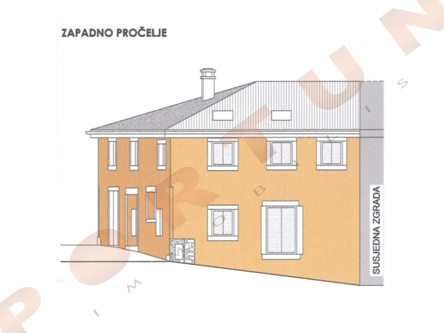 Old stone house with planning permission on a fantastic location in Rovinj, 199.000 €