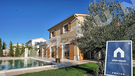 Open house tomorrow in a villa in Southern Istria