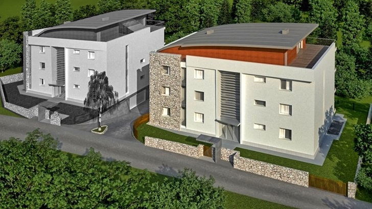 Luxury apartments are being intensively built in Rovinj